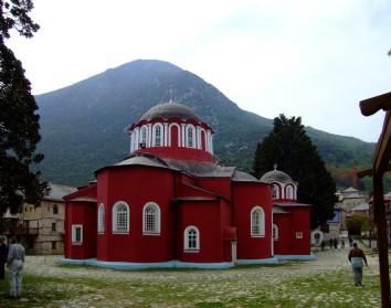 Великая Лавра (Лавра Святого Афанасия) - первенствующий монастырь на Святой Горе Афон