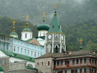 Афон - православная монашеская республика