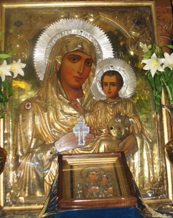 Иерусалимская икона Божией Матери