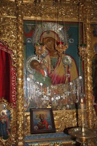 Икона «Млекопитательница», монастырь Хиландар