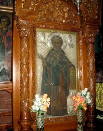 Икона преподобного Саввы освященного