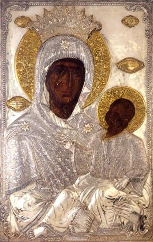 Икона Божией Матери, именуемая «Закланная»