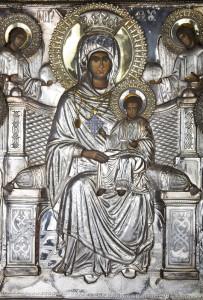 Икона Божией Матери Экономисса или Игумения Афонской горы