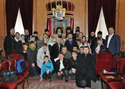 Луганские паломники Иерусалимской Патриархии