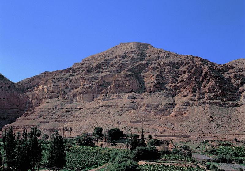 Гора Искушения. Монастырь Каранталь
