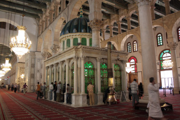 Гробница Иоанна Крестителя. Мечеть Омейядов, Дамаск, Сирия