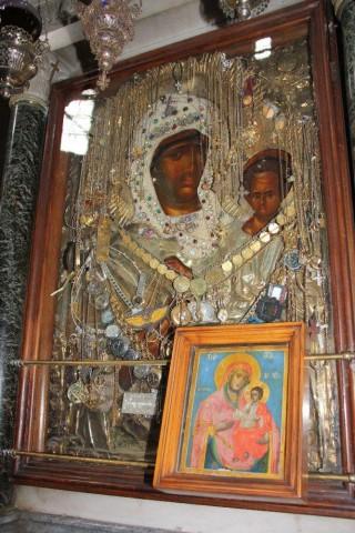 Икона Божией Матери Предвозвестительница Костамонитская