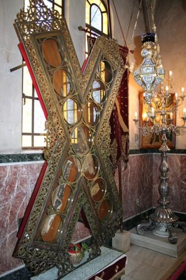 Частицы креста, на котором был распят св. апостол Андрей