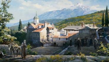 Соборный храм Русской Богородичной обители Ксилургу