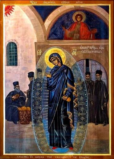 Светонаписанный образ Пресвятой Богородицы