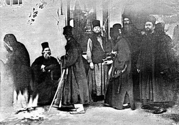 Чудо явления Богородицы в афонском монастыре