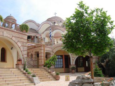 Монастырь св.Архангела Михаила на острове Тассос