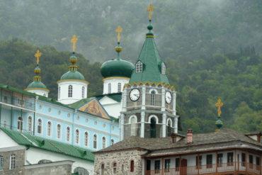 В Русском на Афоне Свято-Пантелеимоновом монастыре 2 октября 2016 г. состоялись выборы нового игумена обители