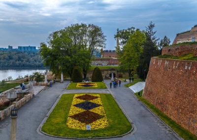 Serbiia_park-Kalemegdan