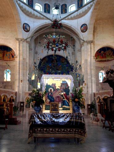 Храм св. Фотинии Самарянки. Колодец Яакова, Наблус