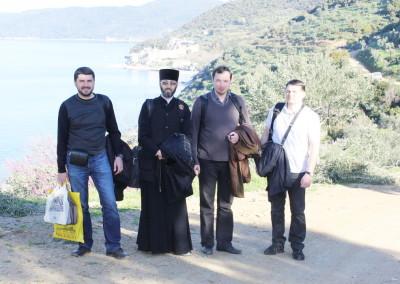 Спецрепортаж из паломнической поездки на Афон 12-19 марта