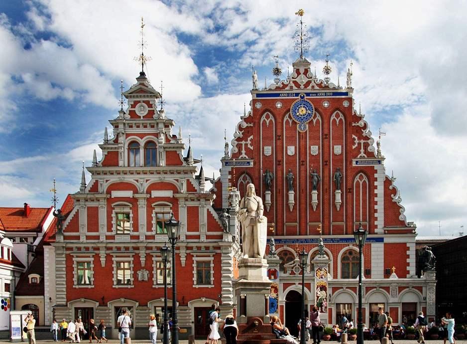 Христианские памятники. Латвия