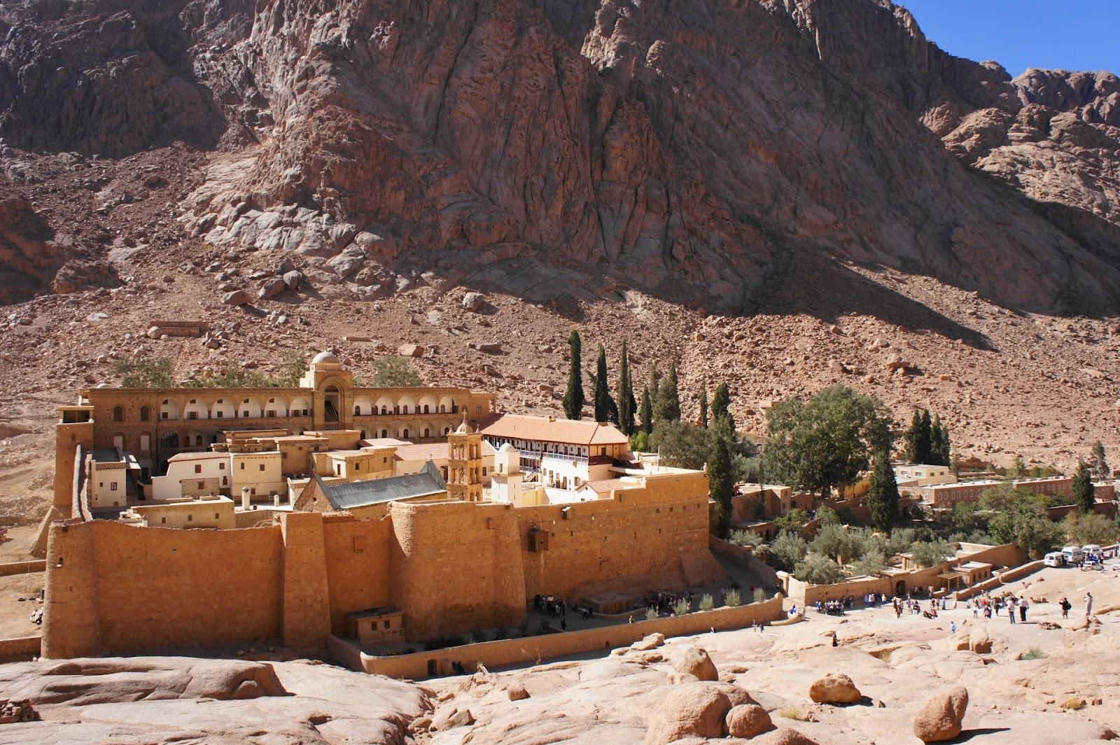 Паломничество на Синай (Египет)