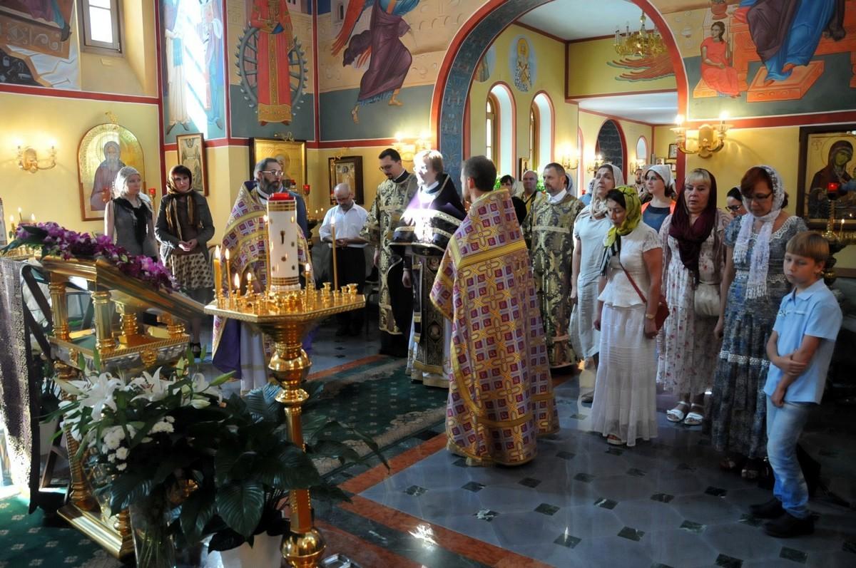 Паломническая группа на Богослужении в Риме