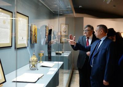 """Уникальная выставка """"Русь и Афон"""" открыта в музее храма Христа Спасителя"""