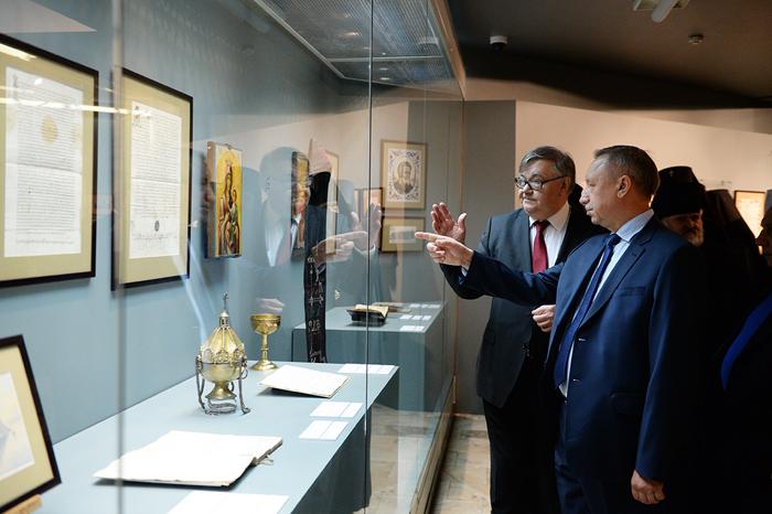 Уникальная выставка «Русь и Афон» открыта в музее храма Христа Спасителя