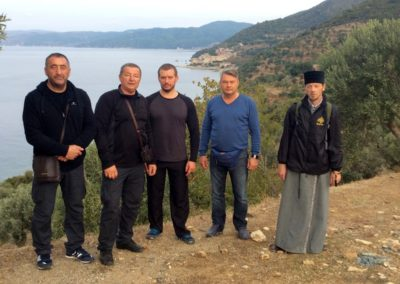Фото и видео отчет о паломничестве в Грецию: святая гора Афон, Салоники, Метеоры, Корфу, Верия