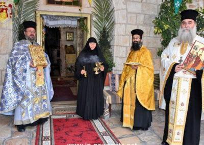 Праздник Сретения Господня в Иерусалимском Патриархате, 15.02.2018
