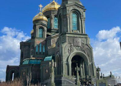 Паломничество в главный храм Вооружённых Сил России, 27.03.2021